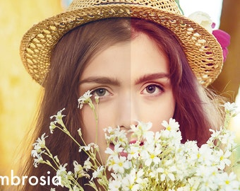 Ambrosia - Photoshop Action INSTANT DOWNLOAD
