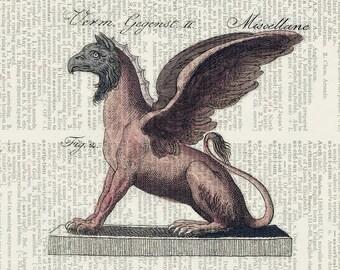 18oo's mythological creature I print