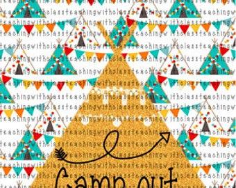 Happy Camper Classroom Poster