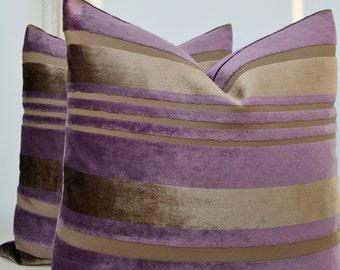 Purple Velvet Pillow Cover,Lavender Velvet Pillow Cove,Mink Velvet Pillow Cover,Purple Pillow Cover,Purple Cushion Cover,Toupe Velvet Pillow