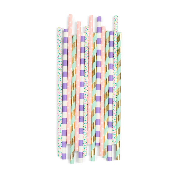 Mythical Tales Straw, Decorative Straw, Pink Straw, Unicorn Straw, Unicorn Party, Unicorn Decor, Magical Birthday, Baby Shower, Holographic