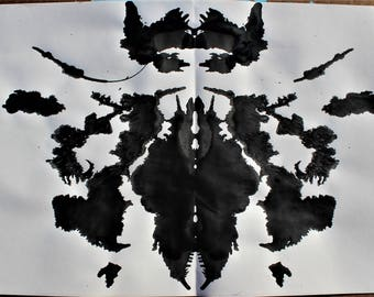 SCARAB INK BLOT