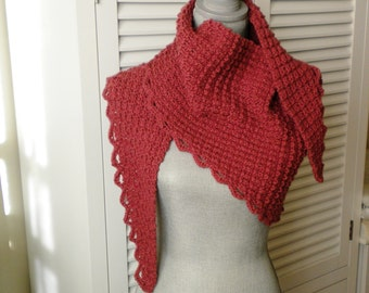 Knit WRAP - Sunset
