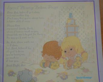 Special Blessings Bedtime Prayer, Gloria & Pat, Pattern Leaflet #23, 1988