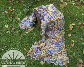 Tripod Wrap , PDF, Crochet Pattern