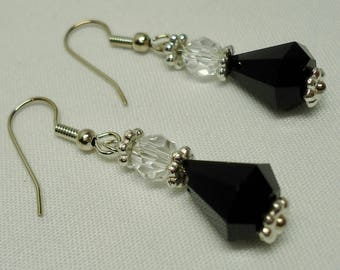 Jewelry, Dangle Earrings for Women,  Crystal Earrings, Made from Swarovski Crystals, Mothers day gift, gift for her, Free shipping to Canada