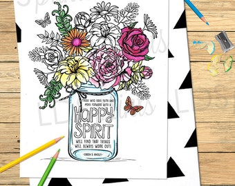 Coloring Pages For Adults That You Can Print : Lds adult coloring pages faith is like a little seed lds