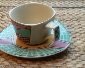 Flash One Rosenthal coffee cup with saucer