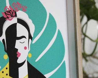 Illustration Print - Frida