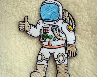 Astronaut Applique Iron on Patch