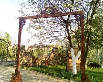 Wedding Arch/ Wedding Backdrop / Floral Arch / Bohemian Backdrop/ Ceremory Arch