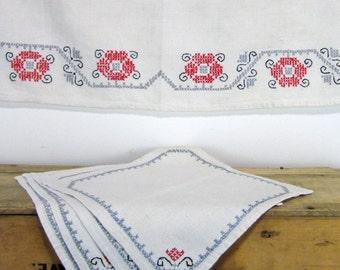 Cross Stitch Linens