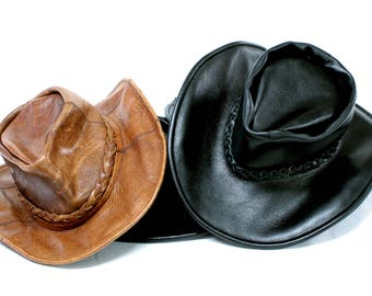 Cow-boy hat, cow-boy hat Genuine leather