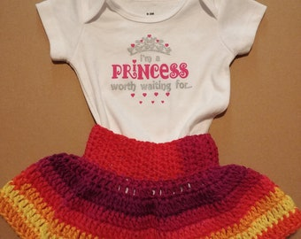 Crochet Princess Outfit