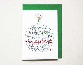 Funny anniversary card husband naughty card boyfriend love