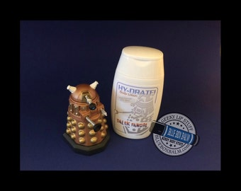 HY-DRATE! Dalek Fangirl - Doctor Who Inspired Body Lotion - Chocolate Orchid Scented - Shimmer