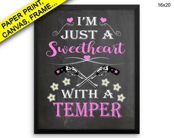 Sweetheart Wall Art Framed Sweetheart Canvas Print Sweetheart Framed Wall Art Sweetheart Poster Sweetheart Office Art Sweetheart Office