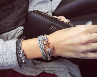 Nautical bracelet, Rope Bracelet. anchor bracelet, man bracelet, paracord bracelet, sailing bracelet, anchor bracelet man, rope bracelet men