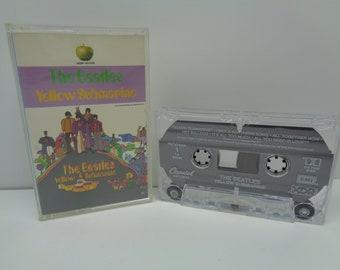 Beatles Yellow Submarine Cassette Apple