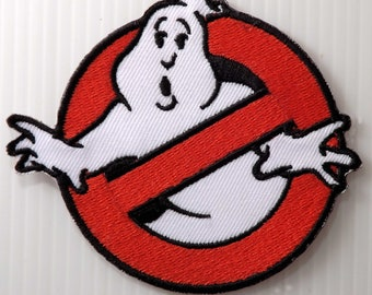 """3.1/4""""x1 pc. ghost buster ghostbusters embroidered iron sew on patch badge applique arm chest apparel garment jacket"""