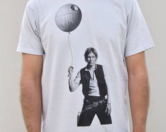 Han Solo mens graphic tee, star wars t-shirt, dad shirt, gift for husband, birthday gift for dad, his shirt, Father's day gift for him
