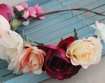 Bride Flower Garland