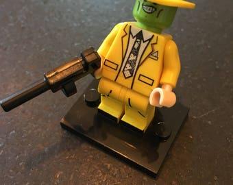 The MASK - Jim Carrey - Movie - Lego Compatible / Custom Minifigure