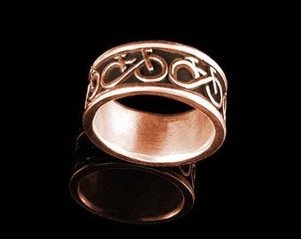 BIKE FOREVER Ring in 14KT Rose Gold