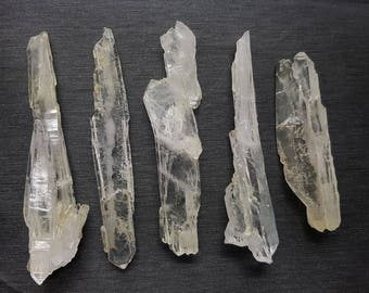 5 Pieces Beautiful  Faden Quartz Crystal From Pakistan