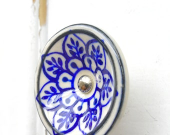 Shabby Chic Clear Glass Knobs Dresser Drawer Knobs Pulls