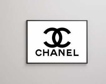 Chanel No 5 poster print on paper or canvas up to A0 size