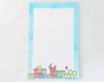 Little Town Notepad – 5.5in x 8.5in