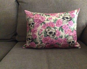 Skulls & Roses Pillow