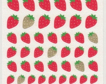 Strawberry Stickers - Paper Stickers - Reference A6535-37