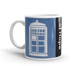 The Sound of Hope | Doctor Who TARDIS Mug