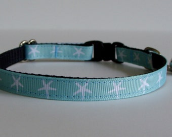 Starfish Beach Cat Collar - Ready to Ship!