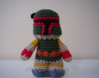 Star Wars Boba Fett Amigurumi Doll