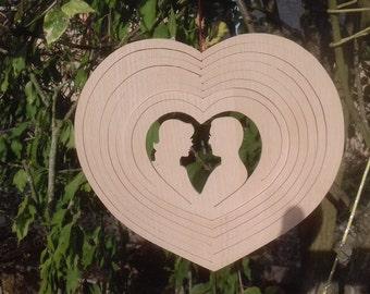Interior handmade hearts