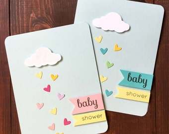 Baby Shower Card, Handmade Baby Shower Card, Handmade Baby Card, Baby Card, Its a Boy, Its a Girl, Boy Baby Shower, Baby Boy