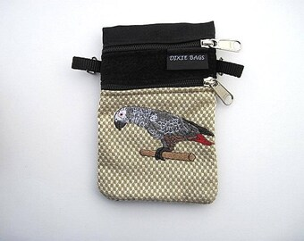 African Grey Parrot Small Cell Phone Case