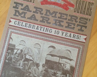 TRUCK FARMERS Poster Kitchen decor Foodie print Letterpress print Farmers market poster Farm to table Tennessee gifts for farmers Farm art