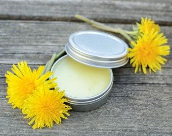 Dandelion Salve // All-Purpose Skin Balm, Herbal Salve, Wildcrafted Salve
