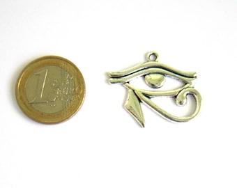 Eye of Horus silver 33 x 26 mm charm