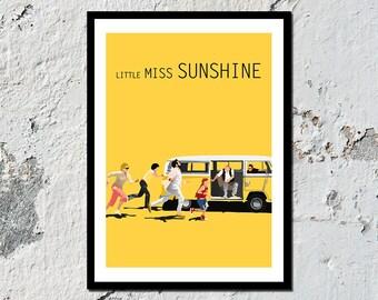 Little Miss Sunshine high quality film print (A5, A4, A3)