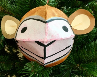 Year of the Monkey Ornament