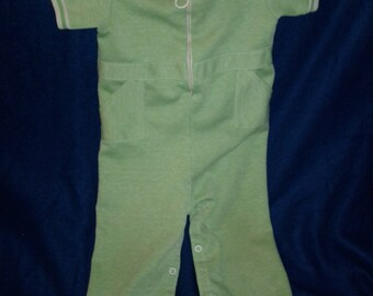 Carter's 1970s striped Jumper 24 months 27 lbs to 29 lbs baby boy toddler