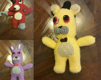 Five nights at freddy's plushes