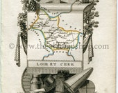 1823 Perrot Map of Loir-e...
