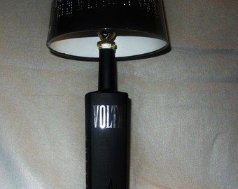 Volta Bottle Lamp Up-Cycled