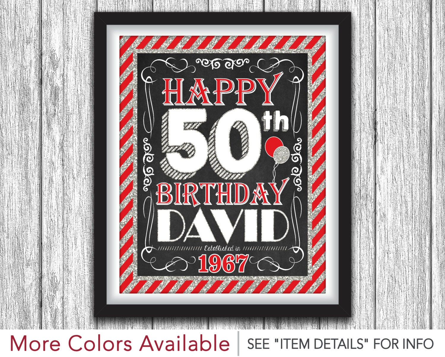 graphic relating to Free Printable 50th Birthday Signs identify 100+ Indicators Pleased 50th yasminroohi
